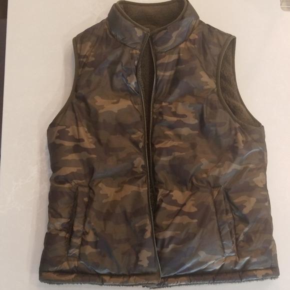 Camo Reversable Vest